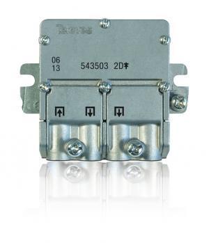 Televes Repartidor TV 2S 5...2400 MHz EasyF 543503