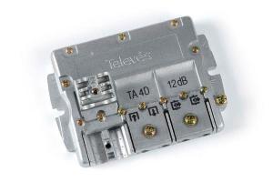 Televes Derivador 4D 5...2400MHz 12db EasyF 544402