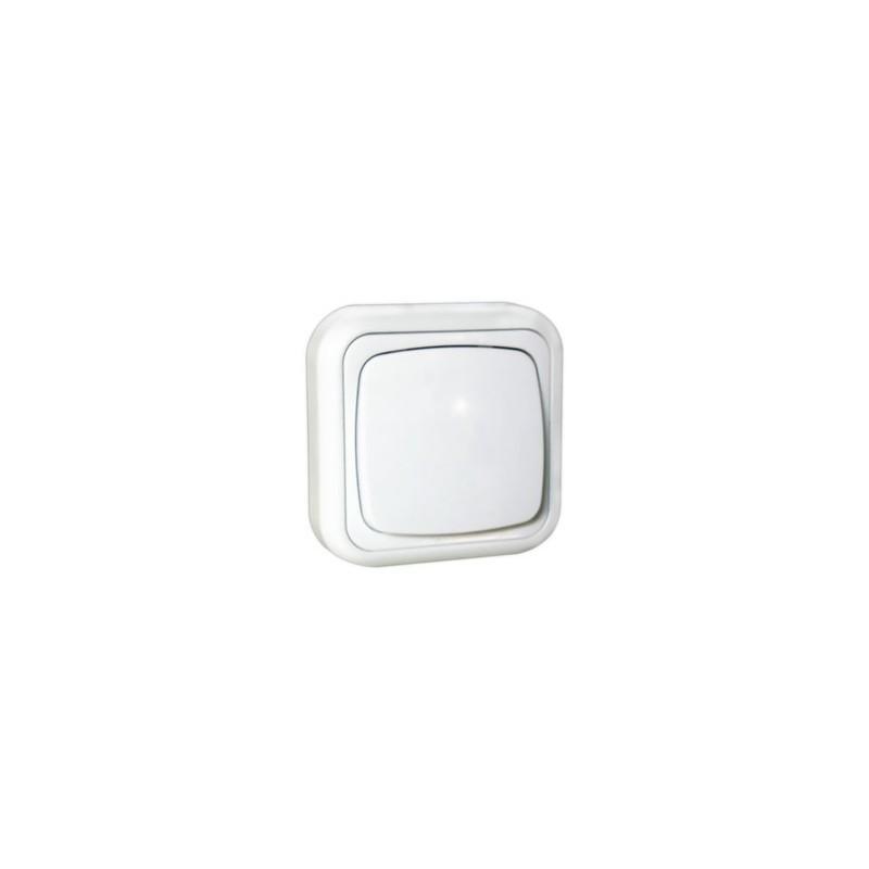 Electro DH Mecanismo Superficie Interruptor Blanco