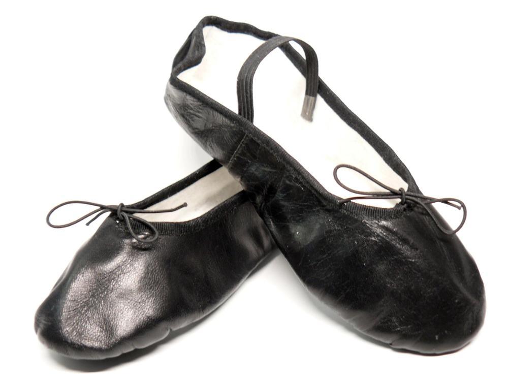 SELQUIR Zapatillas Piel Ballet-Danza - Negras