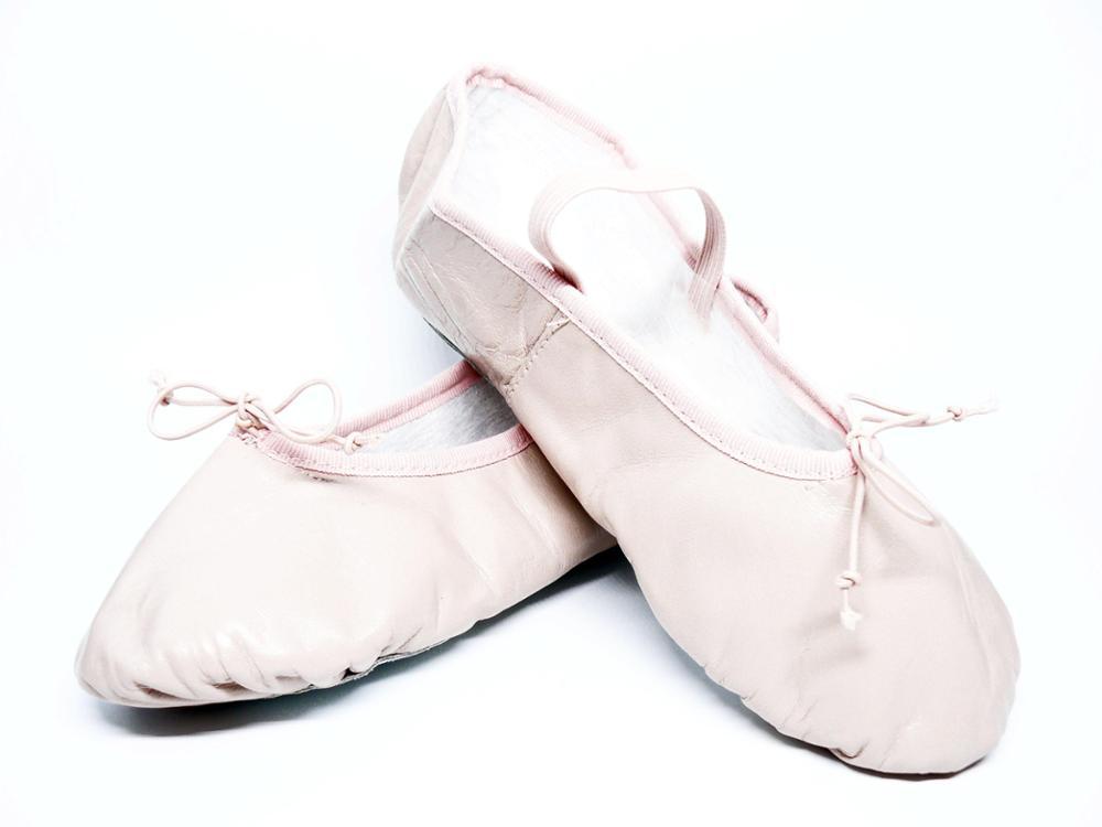 SELQUIR Zapatillas Piel Ballet-Danza - Rosa