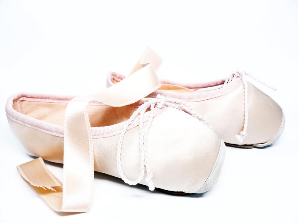 SELQUIR Zapatillas Satén Puntas Ballet-Danza - Rosa