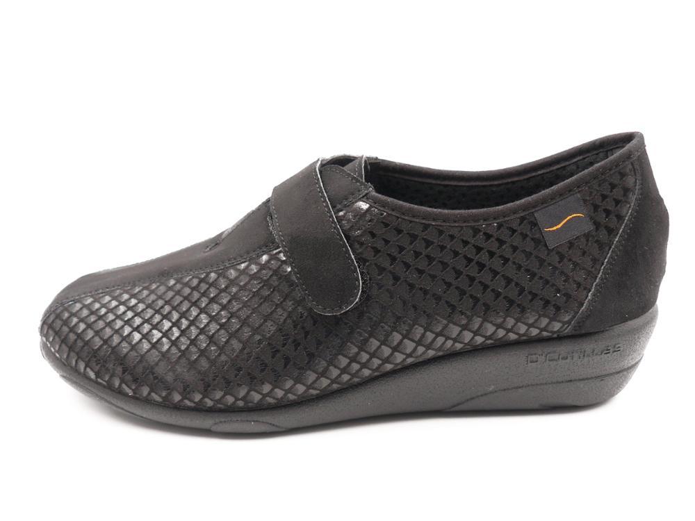 DOCTOR CUTILLAS Zapato abotinado con velcro y cuña - 3676 64