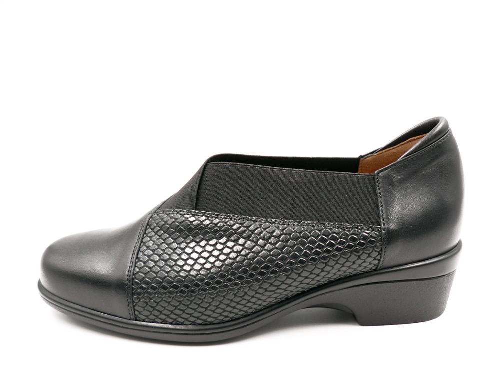 PIESANTO Zapato piel Abotinado, plantilla extraible - 185615 - 151