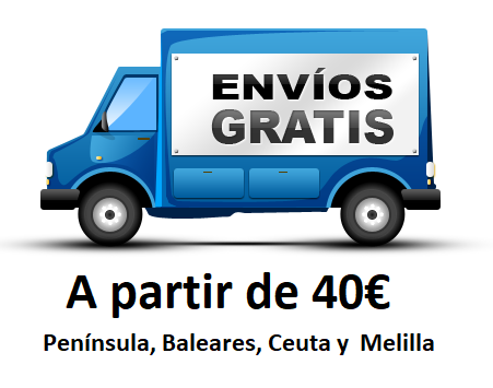 Envio gratis peninsula, baleares, ceuta y melilla